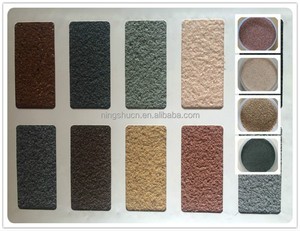 Factory hot direct sell color sand natural stone paint coating