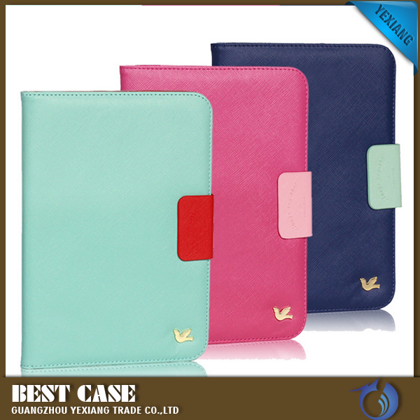 Hot New Promotional wallet Stand Design Magnetic PU Leather Crash-Proof Protective Case Cover for Ipad 2 3 4