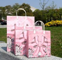 Plastic gift bag 23*26*10