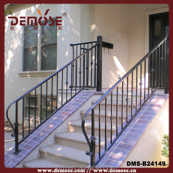 modern outdoor wrought iron balusters/iron balusters stairs/wrought iron handrails