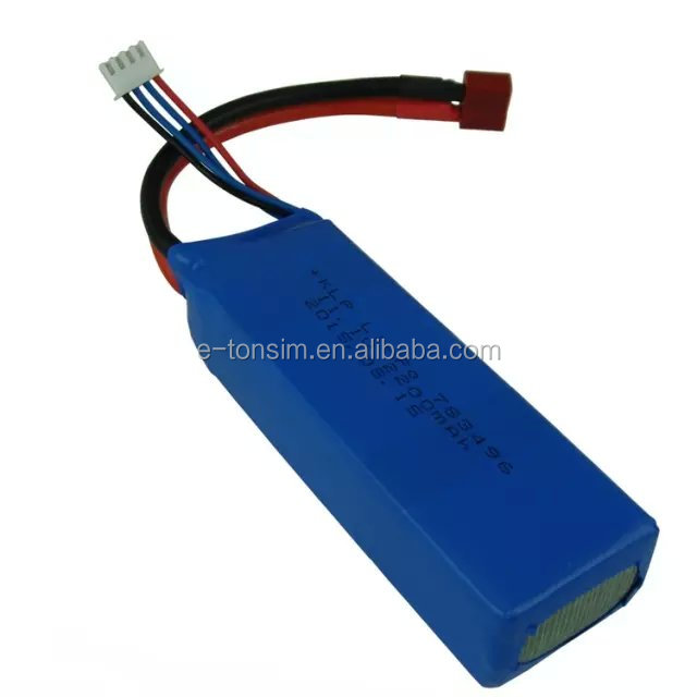 783496 high capacity 11.1v 2200mah rechargeable battery pack for electric product
