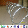 Hot Dipped Galvanized Galvanized Technique Razor Barbed Wire Mesh Fence