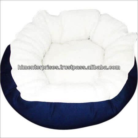 Round Shape Sherpa Cat Bed