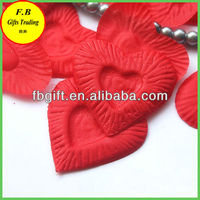 Red Heart Shape Artificail Flower Petal For Party Decoration (FB-F1044)