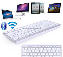 Wireless Bluetooth 3.0 Keyboard for iPad-Macbook Computer Android Phone Tablet