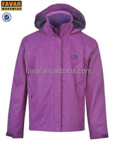Hot sale fashion children clothing waterproof breathable kids jackets