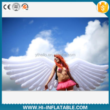 Hot-sale festival event girl dance use costume inflatable angel wing for sale