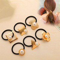 BSCI audited factory wholesale elastic hair band hair tie ponytail holder