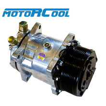 Motorcool 5H14 12V R134a air conditioner compressor for heavy trucks