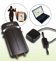 SPY car gps tracker system, real-time gps tracking via smartphone or computer, compatible with original car remotes