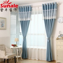Hotel quality turkey Solid Color Blackout Curtains With Metalic / Plastic Eyelet curtain fabric names