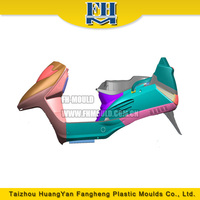 colored plastic injection electric motorcycle parts mold the body of electric motorcycle mould
