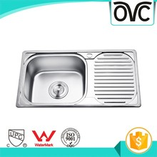 Online shopping unique good quality single bowl kitchen sink utility