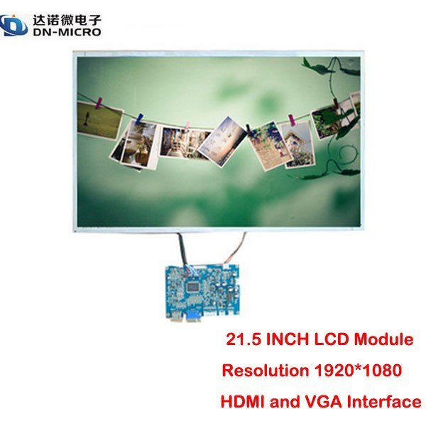 "High resolution HD 21.5""1920*1080 LCD module with HDMI"