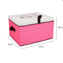 Supply Household Storage Box Pretty Living Box Folding 600D Oxford Fabric Storage Boxes & Bins