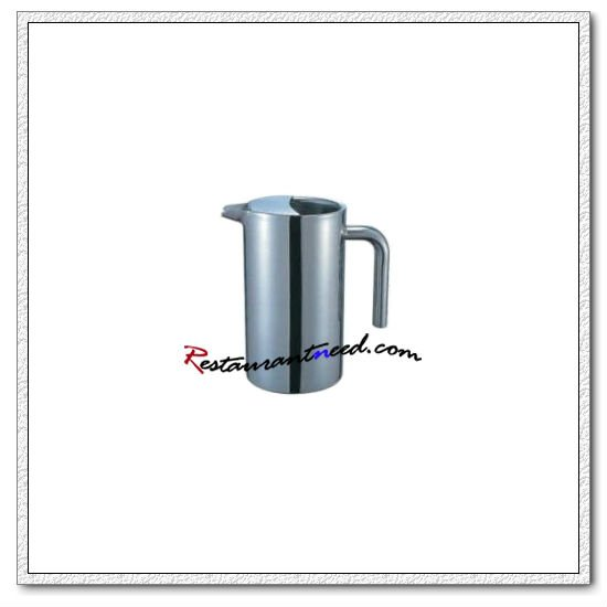 T149 Straight Double Ply Stainless Steel Pitcher