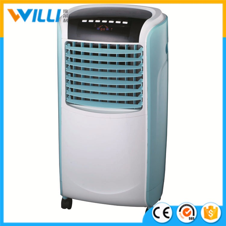 portable evaportative mountain breeze air cooler with LED light display