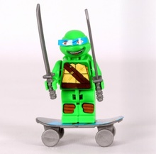 sample order free shipping 20boxes bricks toy building blocks educational toy Ninja turtle promotion gift for boys