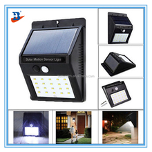 Wholesale Wall Mounted Solar Motion Sensor Lights Outdoor