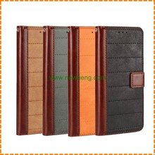 Retro Hit color flip leather stand wallet case for Samsung Galaxy S7 Edge with cards slot