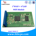 1 WAN + 4 LAN WIFI Module with ATHEROS Chipset