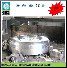 1 mw turbine generator hydro Stainless Steel Runner for Turbinas Pelton wheel