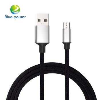 Wholesale Alibaba 1M Metal Braided USB Data Cable Micro USB Cable For USB Cable Phone Charging