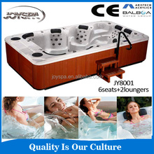 2015 Outdoor hot tub with pop-up speakers and cheap spa accessories