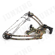M109 triangle compound bow with fiberglass bow limbs