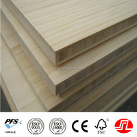 E0 natural color vertical 19 mm 3/4 commercial bamboo plywood panel