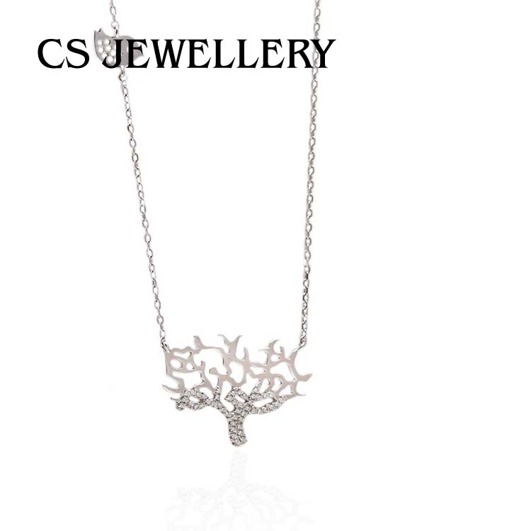 Charms Pendant Lucky Tree Of Life Necklace 7-4346