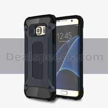 Deep Blue Hard Armor Case for Samsung Galaxy S7 Edge Heavy Duty Cover Hybrid Case