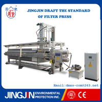 Jingjin stainless steel oil filter press machine