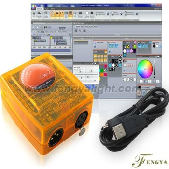 Dmx control interface