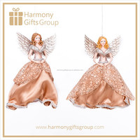 Hot Sale Fabric Christmas Angel Decoration