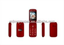 2.2'' W27 dual sim dual stand senior unlocked flip mtk feature mobile phones