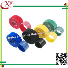 High quality best price100% nylon colored hook and loop