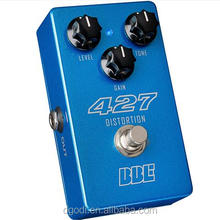electric guitar bass distortion pedal from china dongguan manufacturer
