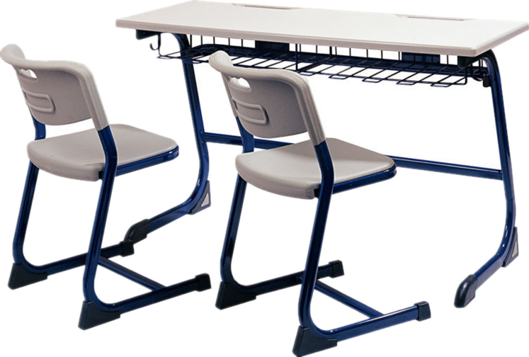 China TOP brand school desk with 2 chairs set