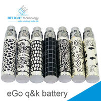 2014 newest ego-k battery match ce4 clearomizer with various pattern battery ego k