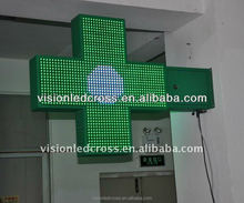 LED Pharmacy Cross display screen for pharmacy and hospital