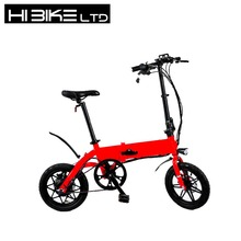 Hibike OEM Electric Folding Bike at Cheap Price 36V 8A with LED Display