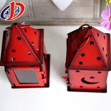 Red door type holiday decoration lamp outdoor lantern christmas lights