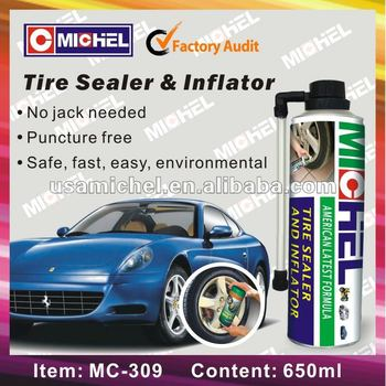 Tire Sealer and Inflator(SGS, REACH, RoHS)