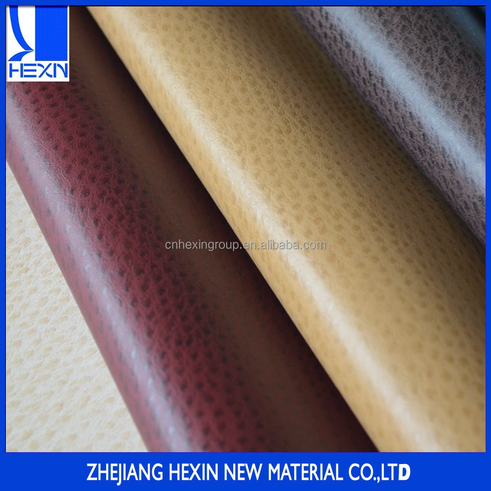 High quality 1.0mm decorative pu ostrich leather for sofa,car seat