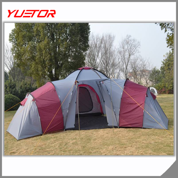 YUETOR 10-Person 3-Room XL CAMPING Family Cabin Tent