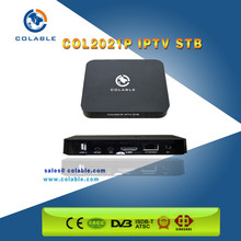 cheap iptv set top box android 4.3 tv box for WAN/LAN iptv system solution
