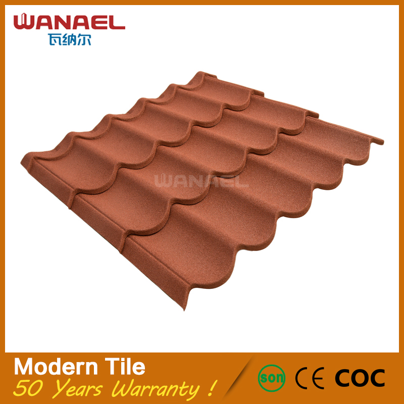Wanael project materials supplier advanced production blue spanish style roof tiles prices