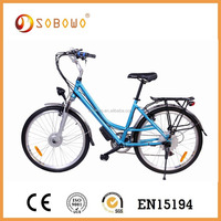 green power 250w brushless motor hidden battery electric bicycle CE