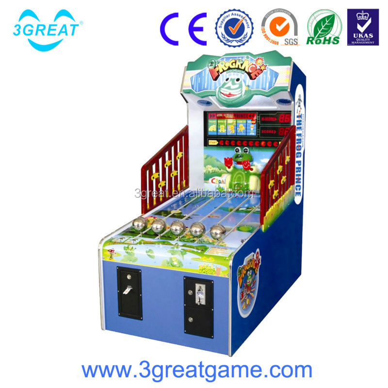 Frog Prince coin operated ticket redemption games